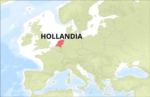 Hollandia Terkepek